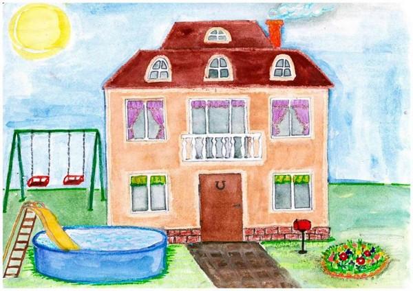 Конкурс рисунки дом моей мечты.